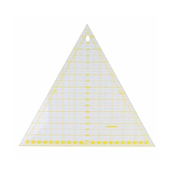 Artibetter 定規 縫製定規 三角形 パッチワーク定規 裁縫ツール テンプレート 描画 製図用具 DIY手芸 縫製 測定 絵