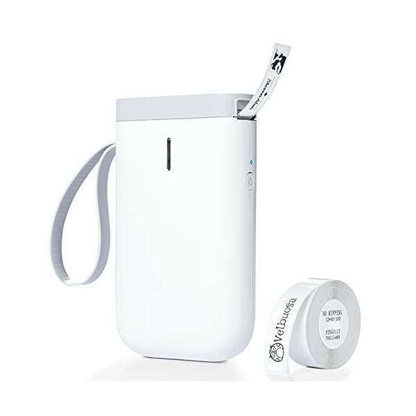 スマホ ラベルプリンター Vetbuosa D11 感熱ラベルプリンター ポータブル型 スマホ対応 ラベル用サーマルプリン