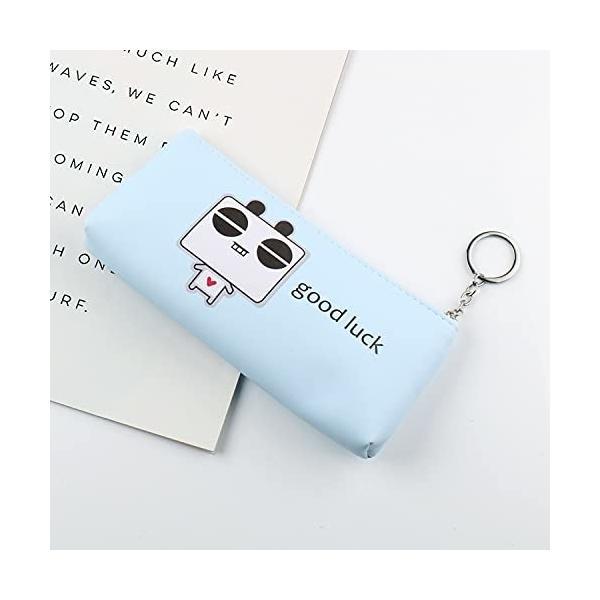 シンプル 筆箱 高校生ペンケース おしゃれ 大容量PUレザーpencil case 多機能ペンポーチ小学生 女の子 男の子 ポ