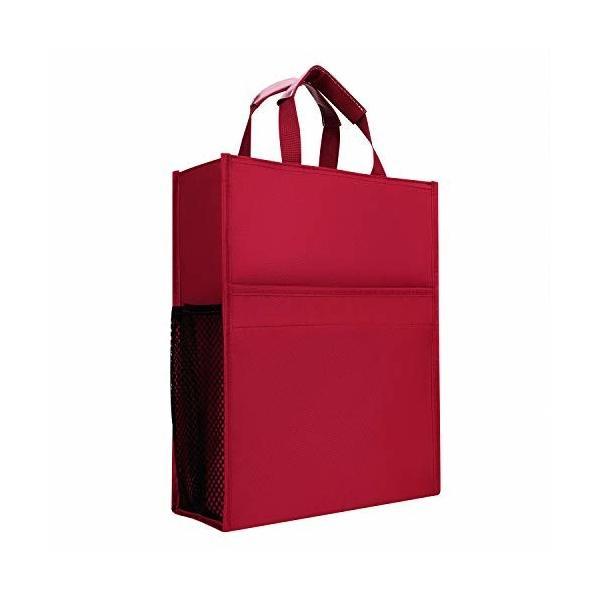 a4書類ケース ドキュメントファイルケース 大容量 手提げ ファイルバッグ 資料収納カバー 軽量 丈夫 防水 オ