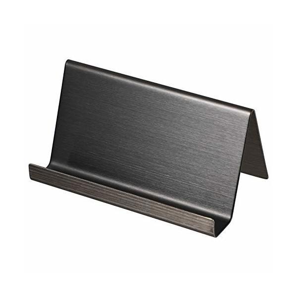 TOYMYTOY 名刺立て スタンド カードスタンド 卓上 金属製 卓上名刺ケース 事務所用品 オフィス用品