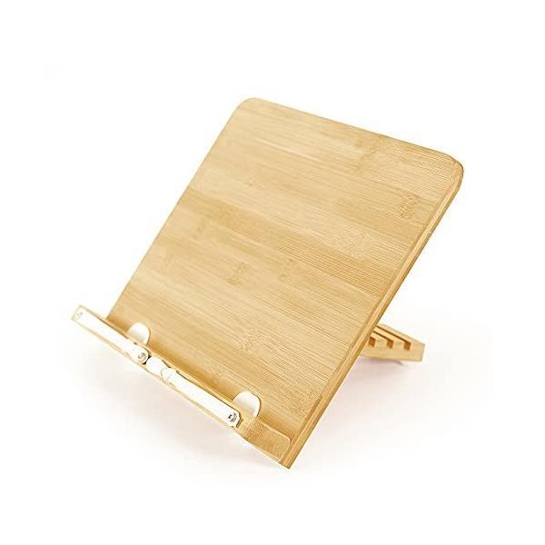 ブックスタンド 読書台 書見台 読書台ベース ミニ ポータブル 折りたたみ式 ブッククリップ 教科書 6+1段階調