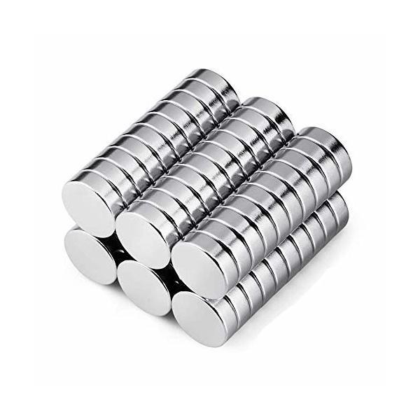 C、V、COSVER 磁石 マグネット ネオジウム磁石 超強力 丸形 多用途 小型丸ディスク磁石 (10*3mm 40個)