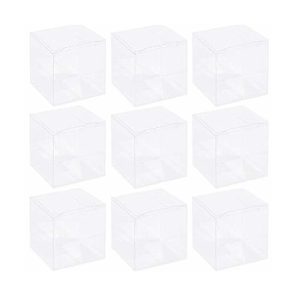 プラスチックケース ギフトボックス 展示 パッケージ アクセサリー 包装 組み立て式 PVC透明プラスチックケ
