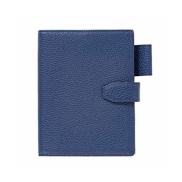 (キオッチョラ/Chiocciola) パスポートケース イタリア製レザー 使用 4冊収納 パスポートカバー レディース (ネイ
