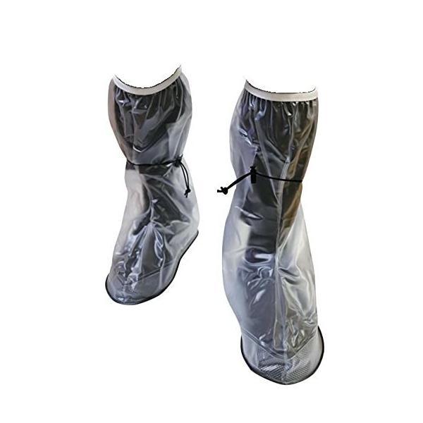 (LL)防水シューズカバー 靴カバー 滑り止めの厚さ チューブ アウトドア防水靴カバー 滑り止め 梅雨対策 レイ