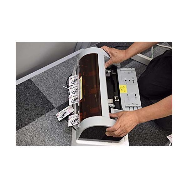名刺カッターA4サイズを名刺サイズ(55x91mm)にカットする簡易カッターです。オリジナル10mmドブ仕様