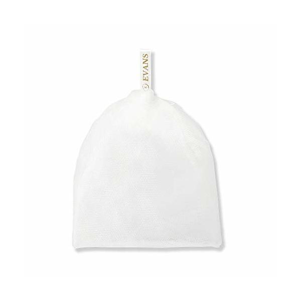 エバンス(EVANS) 泡立てネット 洗顔用 濃密泡 泡洗顔 洗顔ネット 日本製