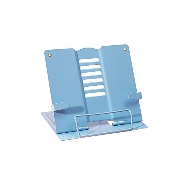 ブックスタンド 軽量 持ち出し向け 筆記台 書見台 180°調整可能 本立て 折畳み 肩こり解消 姿勢矯正 20*19cm ブ