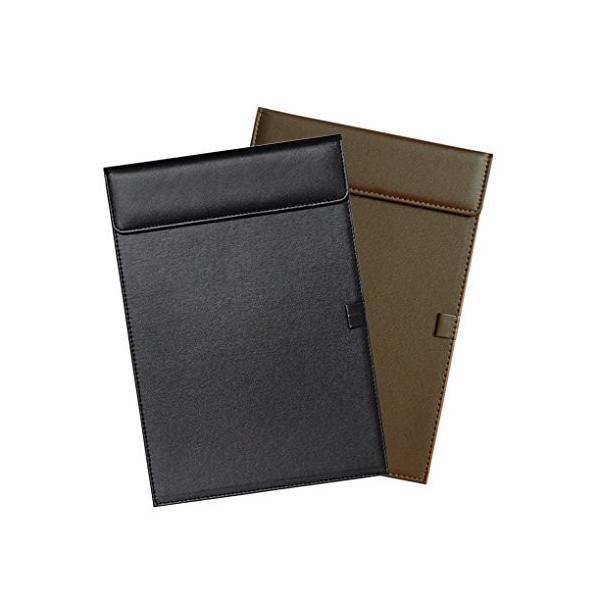 クリップボード A4 レザー調 クリップファイル ビジネス マグネット式 レポートパッド 会議パッド バインダー