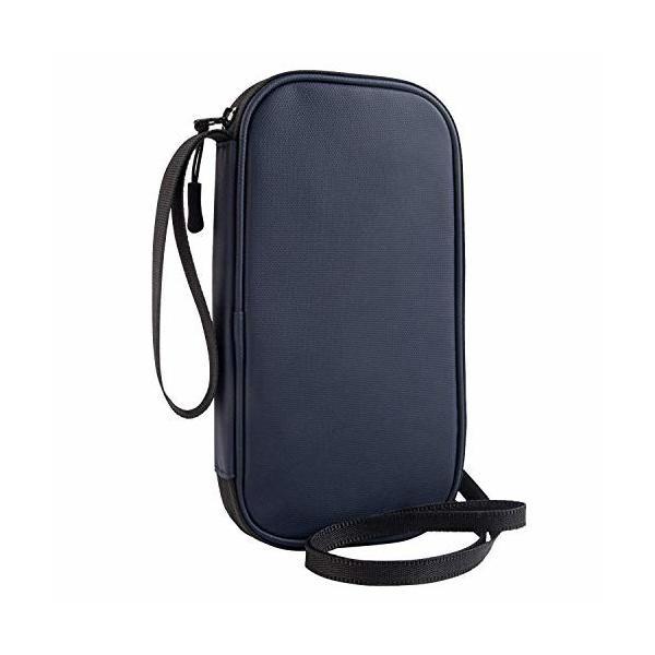 パスポートケース 首下げ RFID スキミング防止 ネックポーチ 貴重品入れ セキュリティケース 四つのパスポー
