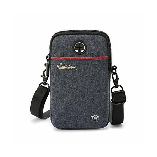 LWBTOSEE パスポートケース パスポート入れ パスポートホルダー 首下げ 薄型 財布 斜め掛けバッグ ナイロン製
