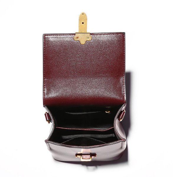 牛革 シングル ショルダー レディース バッグ ファッション テキスタイルベルトスモールbled レディバッグ