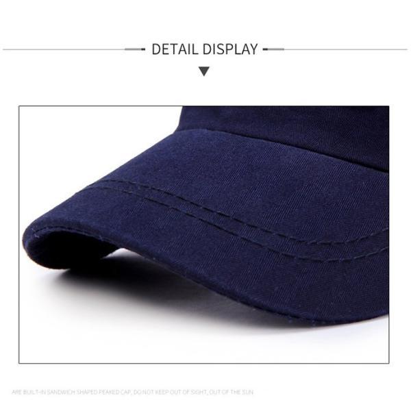 2019年夏新作 キャップ メンズ帽子 ワークキャンプ  ゴルフ帽子  UVカットつば長 日焼け止め 釣り アウトドア 通気性抜群 サイズ調節可能 shin-8 16