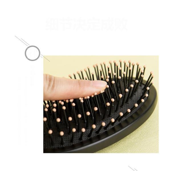 美髪プレゼント 3点セットヘアブラシ 静電気防止 サラサラ くし 櫛  頭皮ケア  艶髪ブラシ 携帯 巻き髪 人気 女性用 家庭用|shin-8|19
