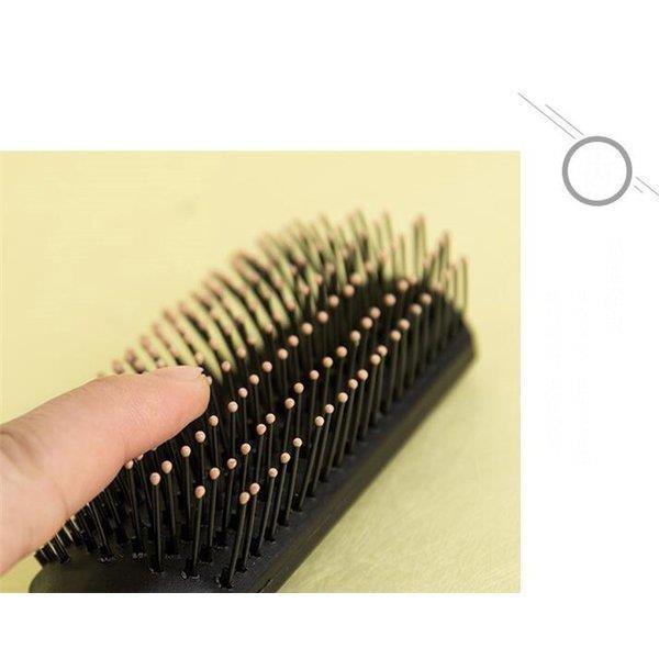 美髪プレゼント 3点セットヘアブラシ 静電気防止 サラサラ くし 櫛  頭皮ケア  艶髪ブラシ 携帯 巻き髪 人気 女性用 家庭用|shin-8|08