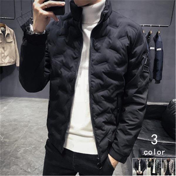 ダウンジャケット メンズ アウター ジャケット 中綿ジャケット ブルゾン 暖かい あったか 防寒 秋冬 冬服 厚手|shin-8