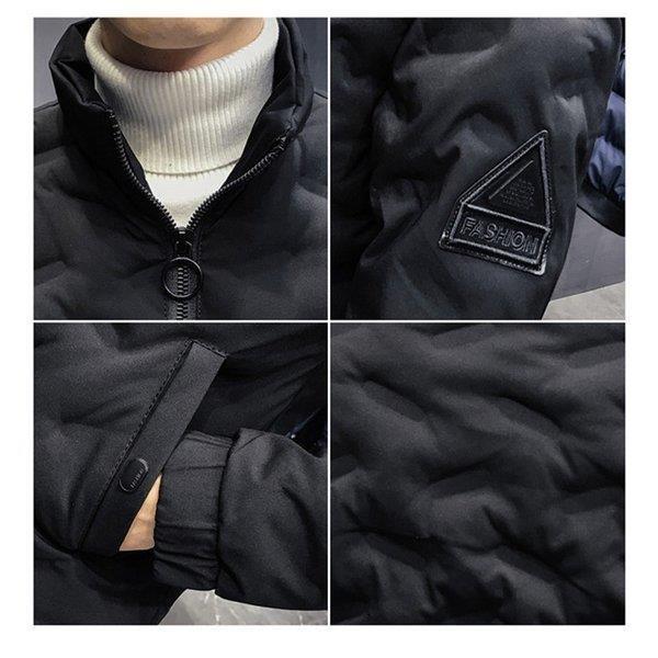 ダウンジャケット メンズ アウター ジャケット 中綿ジャケット ブルゾン 暖かい あったか 防寒 秋冬 冬服 厚手|shin-8|11