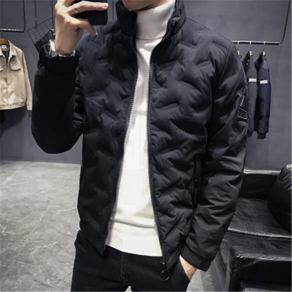 ダウンジャケット メンズ アウター ジャケット 中綿ジャケット ブルゾン 暖かい あったか 防寒 秋冬 冬服 厚手|shin-8|13
