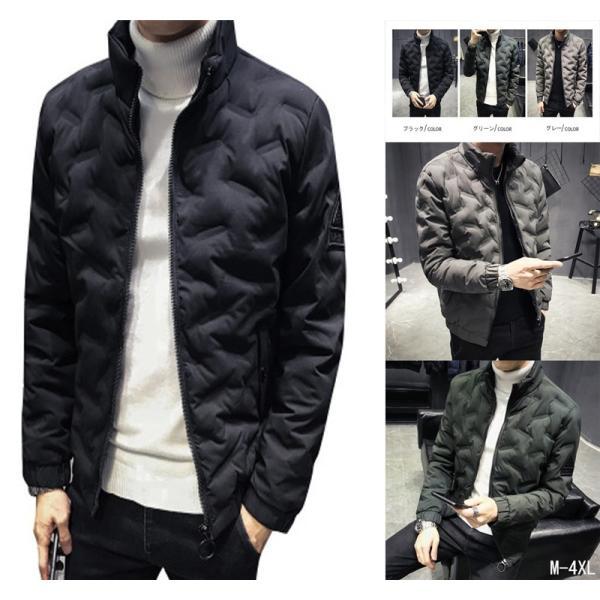 ダウンジャケット メンズ アウター ジャケット 中綿ジャケット ブルゾン 暖かい あったか 防寒 秋冬 冬服 厚手|shin-8|16