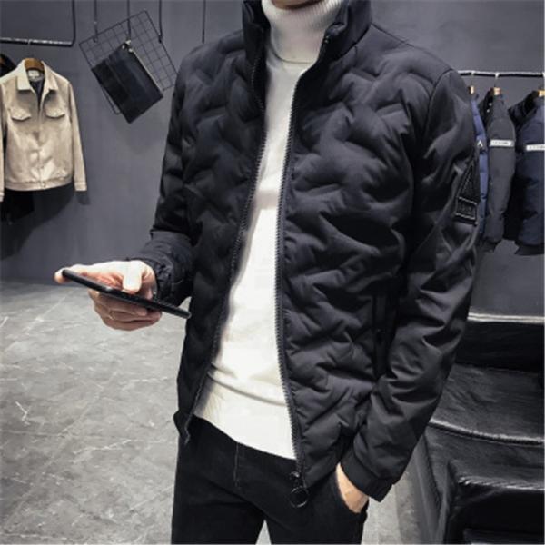 ダウンジャケット メンズ アウター ジャケット 中綿ジャケット ブルゾン 暖かい あったか 防寒 秋冬 冬服 厚手|shin-8|18