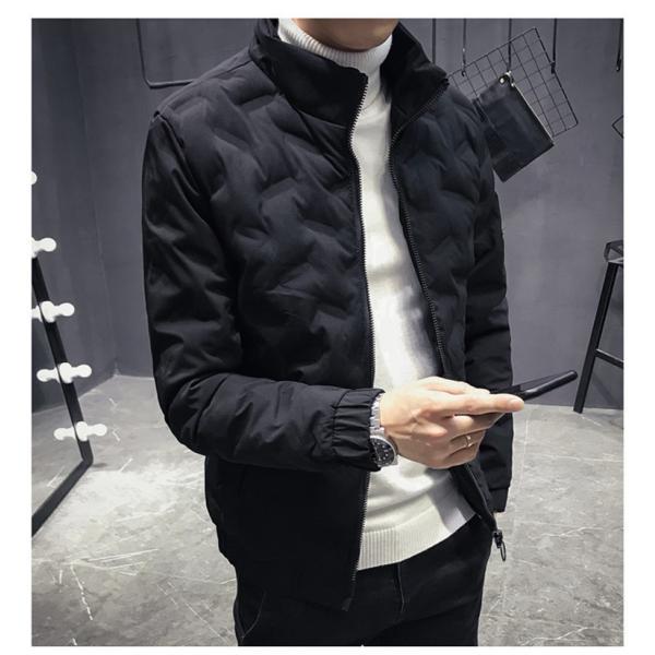 ダウンジャケット メンズ アウター ジャケット 中綿ジャケット ブルゾン 暖かい あったか 防寒 秋冬 冬服 厚手|shin-8|19