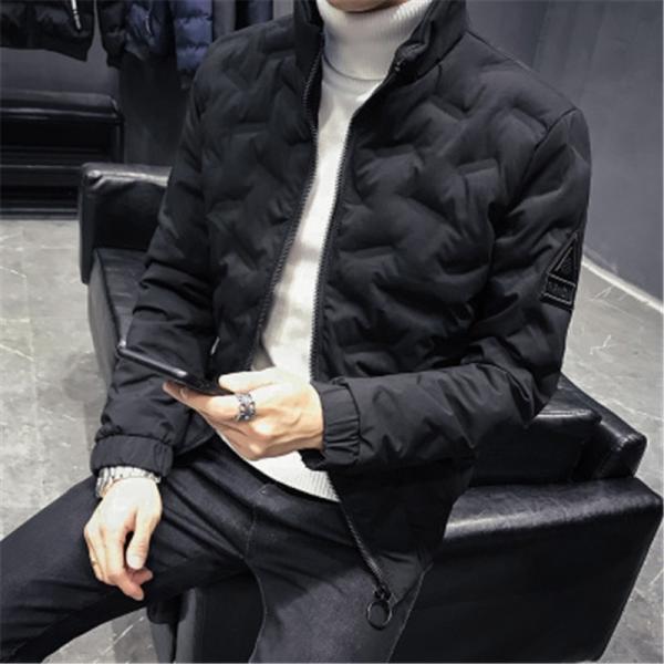 ダウンジャケット メンズ アウター ジャケット 中綿ジャケット ブルゾン 暖かい あったか 防寒 秋冬 冬服 厚手|shin-8|20