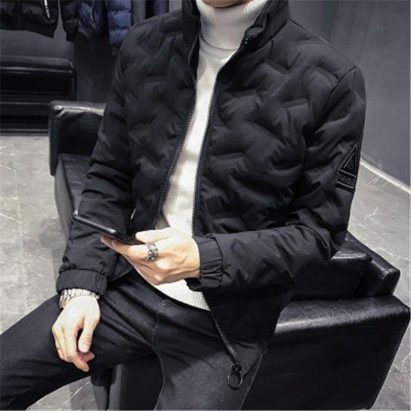 ダウンジャケット メンズ アウター ジャケット 中綿ジャケット ブルゾン 暖かい あったか 防寒 秋冬 冬服 厚手|shin-8|05