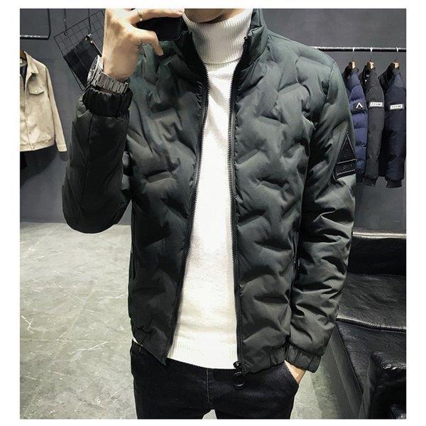 ダウンジャケット メンズ アウター ジャケット 中綿ジャケット ブルゾン 暖かい あったか 防寒 秋冬 冬服 厚手|shin-8|07