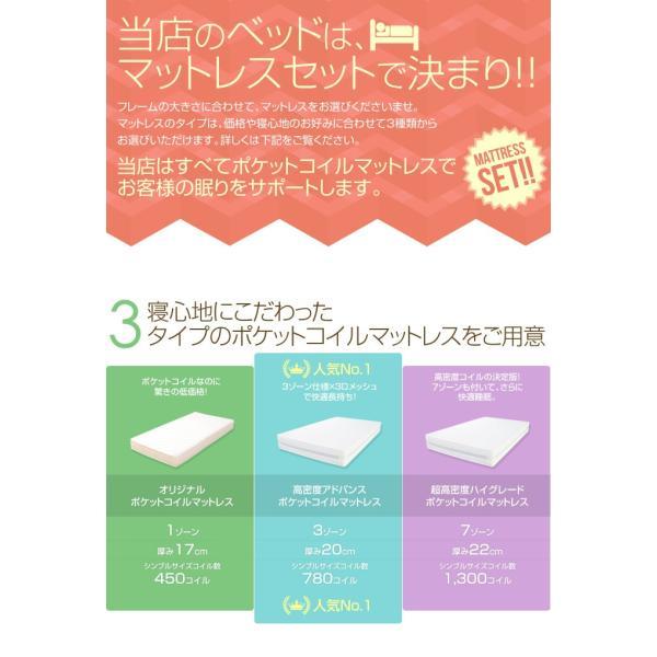 収納ベッド 【超高密度マットレス付き】セミダブル Alloys(アロイス) shingu-yumenozikan 11