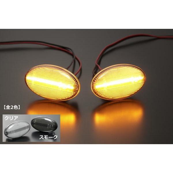プレオ(RA/RV)/ヴィヴィオ(KK/KW/KY) LEDサイドマーカー 左右セット  //ビストロ/Tトップ