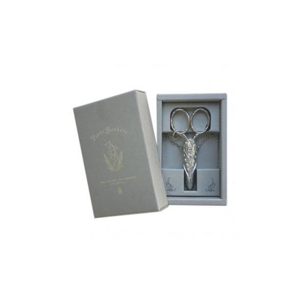 アナノ・ポルトボヌールシリーズ すずらんシザーケース(ハサミ付) 79-486 裁縫道具 はさみ