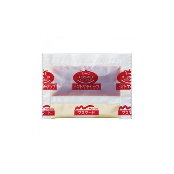 タカハシソース ケチャップ&マスタード ツインパック 1200個(200×6) 040878 調味料 油 ケチャップ