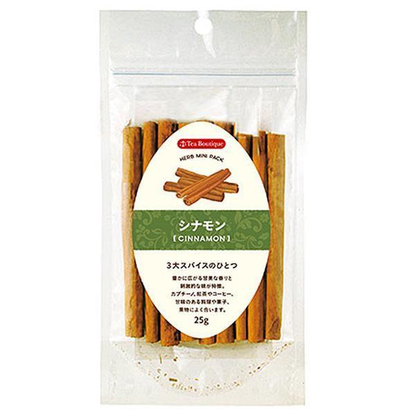 ティーブティック ハーブ ミニパック シナモンスティック25g×12セット 50102 コーヒー