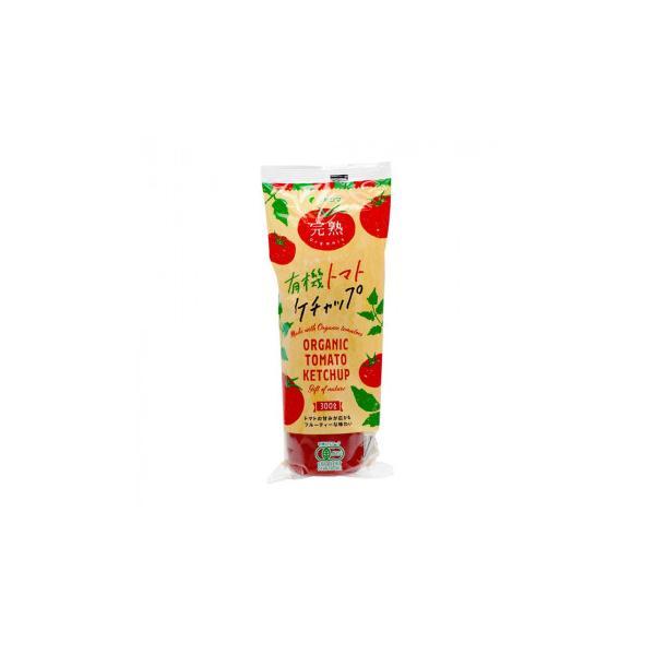 純正食品マルシマ 有機 トマトケチャップ チューブ入 300g×6本 1785 食品 ケチャップ