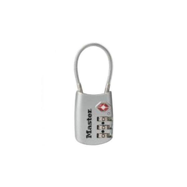 ナンバー可変式TSAロック ワイヤータイプ 4688JADSLV 防犯