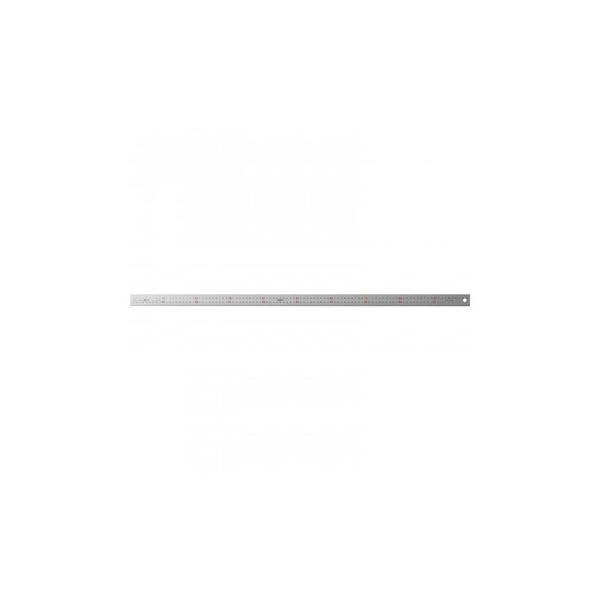 ステンレス・アルミ定規 ユニオン直尺 100cm 1-831-0100 定規 製図用品