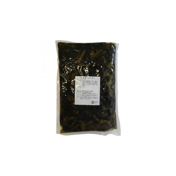 山一商事 野沢菜にたくもじ 1kg×15個 30500 料理