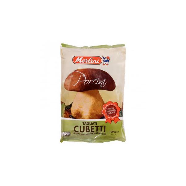 メルリーニ 冷凍ポルチーニ キューブ 1000g 8袋セット 2412 キノコ