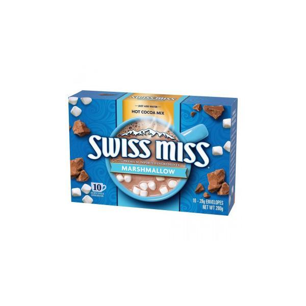 506-001 スイスミス ココアミックス ミニマシュマロ入り (28g×10袋入り)×12 ココア