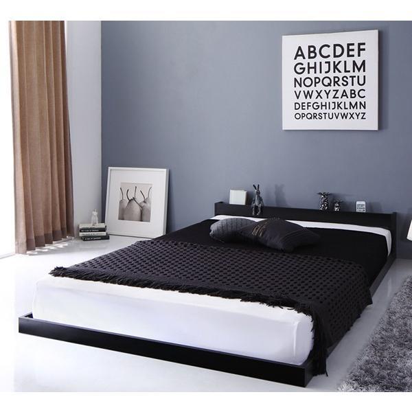 送料無料 棚 宮 cm 2nd ロー 幅105 フロア スカイ 棚付き 高さ30 ライン ベッド ベット SKYline 長さ215 シングル フレーム セカンド 木製ベッド ローベッド|shiningstore-life|15