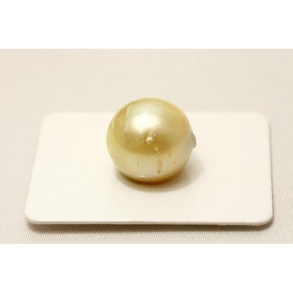 南洋白蝶真珠パールルース 13mm ナチュラルゴールドカラー