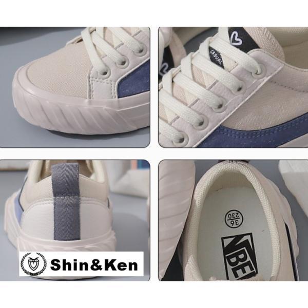 レディース スニーカー カジュアルシューズ レディースシューズ ファッション おしゃれ 新作 女 靴 キャンパスシューズ fbxk008 shinken 06