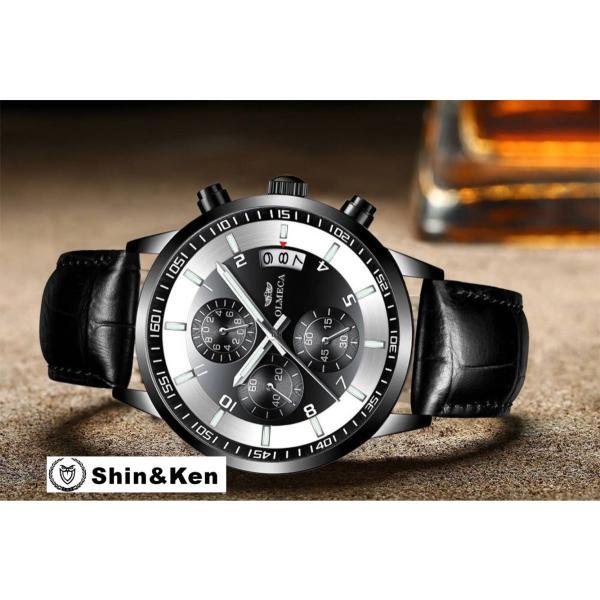 わけあり セール 腕時計 メンズ ウォッチ レディース 時計 人気 ブランド 電池時計 OLMECA mtk02|shinken|02