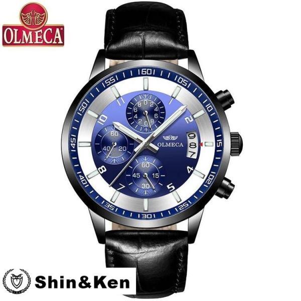 わけあり セール 腕時計 メンズ ウォッチ レディース 時計 人気 ブランド 電池時計 OLMECA mtk02|shinken|03