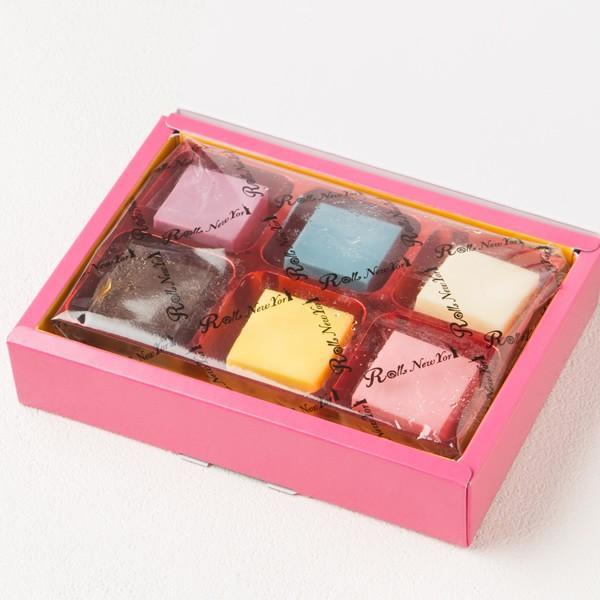 Rolls New York お中元ギフト Colorful Chocolate 6 (カラフルチョコレート) 6個 / 新杵堂|shinkinedo|03