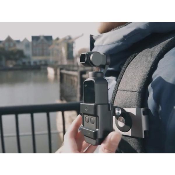 PGYTECH アクションカメラ用 メタルクリップマウント