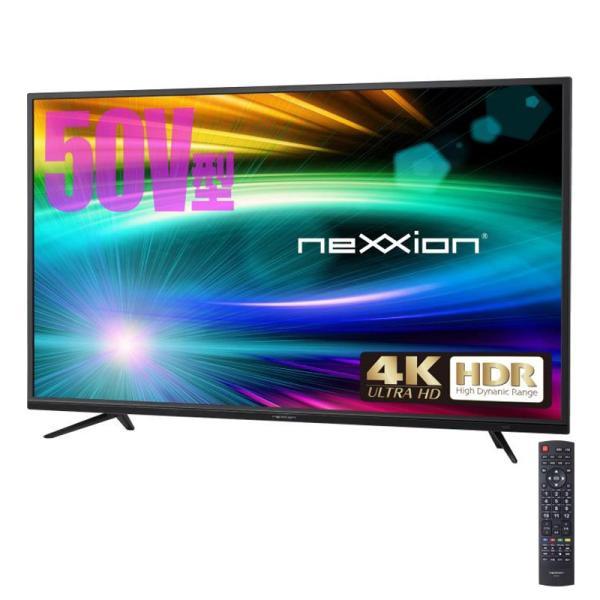 nexxion 50V型 HDR対応4K液晶テレビ FT-K5030B