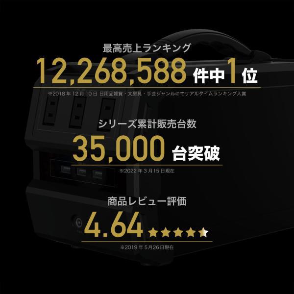 ポータブル電源 大容量 発電機 家庭用 蓄電池 日本メーカー 車中泊 サブバッテリー 三元系リチウム電池 shinpei00001 04
