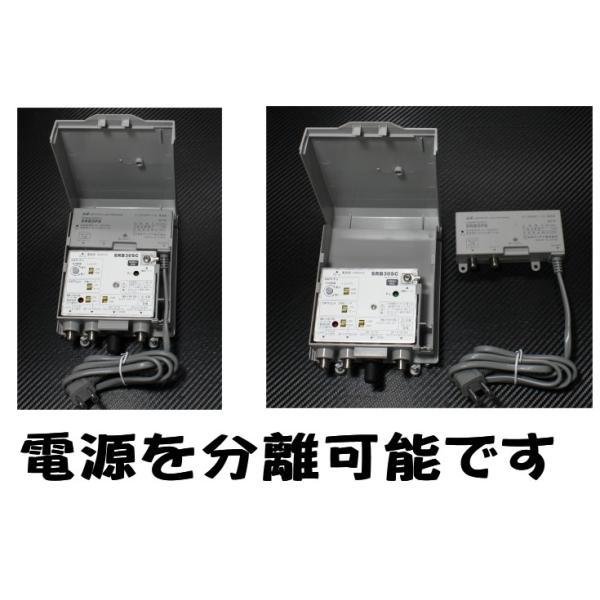 日本アンテナ 双方向CATV・BS/CSブースター 下り増幅型(30dB) SRB30SC BS・CSブースター バルク|shins|02